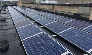 Eden Girls School solar panels